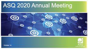 2020 ANNUAL MEETING OF MEMBERS